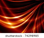 Abstract Thin Red Lines On A...
