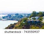 tunisia. sidi bou said | Shutterstock . vector #743550937