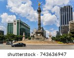 mexico city   july 19  2015 ... | Shutterstock . vector #743636947