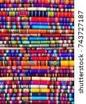 textile colors   Shutterstock . vector #743727187