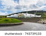 edinburgh  scotland   august... | Shutterstock . vector #743739133