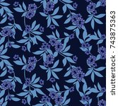 Seamless Luxury Pattern With...