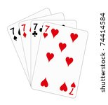 Playing Cards   Seven  Poker