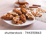 "small cakes ""potatoes"" with... 