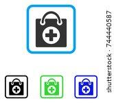 first aid icon. flat grey...