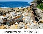 sydney  australia.   on october ...   Shutterstock . vector #744454057