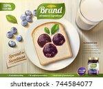 Blueberry Jam Ads  Blueberry...