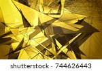 gold beautiful illustration...   Shutterstock . vector #744626443