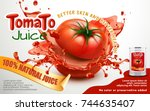 Tomato Juice Ads  Metal Can...