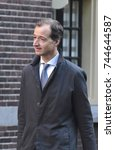 Small photo of The Hague, The Netherlands - The new Minister for Economic Affairs and Climate, Eric Wiebes