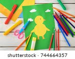 Adorable Childish Applique And...