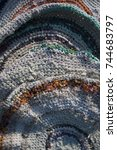 Crocheted Mottled Mats