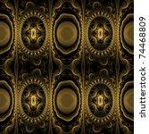 an abstract seamless pattern... | Shutterstock . vector #74468809