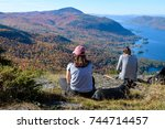 Small photo of Hikers in the Adirondacks