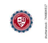 university or college... | Shutterstock .eps vector #744804517