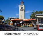 the farmers market at the grove ... | Shutterstock . vector #744890047