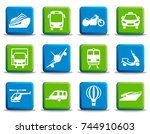 simple images of types... | Shutterstock .eps vector #744910603