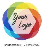 your logo | Shutterstock .eps vector #744913933