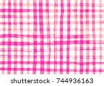 Gingham Fabric Background....