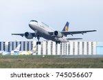 langenhagen   germany   october ... | Shutterstock . vector #745056607