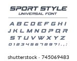 Sport Style Universal Font....