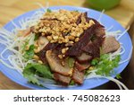 vietnamese lunch   april 8 ... | Shutterstock . vector #745082623