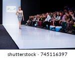 moscow  russia   october 28 ... | Shutterstock . vector #745116397