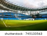 russia  moscow  october 2017 ... | Shutterstock . vector #745133563