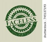 green faceless rubber texture | Shutterstock .eps vector #745137193