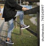milan  italy   september 28 ... | Shutterstock . vector #745143997