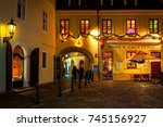prague  czech republic  ... | Shutterstock . vector #745156927