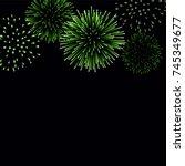 Firework Sparkle Background...