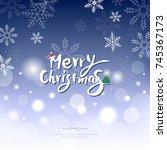 christmas illustration   Shutterstock .eps vector #745367173
