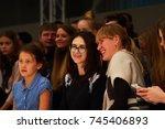 minsk october 29  an... | Shutterstock . vector #745406893