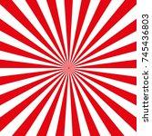 vector background rays | Shutterstock .eps vector #745436803