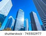 urban building group | Shutterstock . vector #745502977