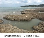 Small photo of Natural algal reef shore at New Taipei City, Taiwan