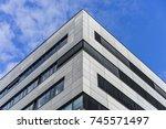 modern building | Shutterstock . vector #745571497