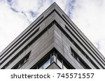 modern building | Shutterstock . vector #745571557