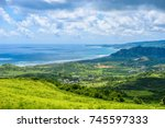 view from cherry tree hill to... | Shutterstock . vector #745597333