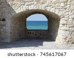 Old Stone Window From The...