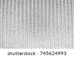 distress overlay thread texture.... | Shutterstock .eps vector #745624993