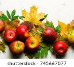 Autumn Warm Background Of...