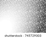 background with abstract... | Shutterstock .eps vector #745729303