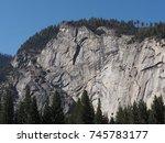 yosemite valley | Shutterstock . vector #745783177