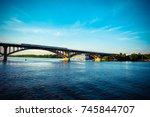 Small photo of Bridge across the Dnipro River