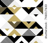 Geometric Pattern Of Abstract...