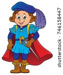 prince theme image 4   eps10... | Shutterstock .eps vector #746158447