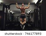 full length rearview shot of a... | Shutterstock . vector #746177893