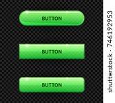 green transparent buttons for... | Shutterstock .eps vector #746192953
